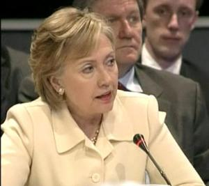 Clinton at the International Conference on Afghanistan